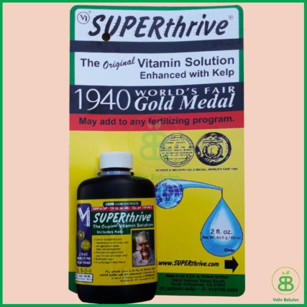 Thuốc kích thích sinh trưởng cho lan Super thrive 60ml